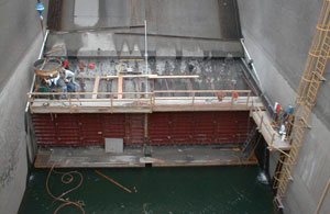 McNary Dam Flow Deflectors