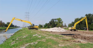 Canal Channel Slope Repairs